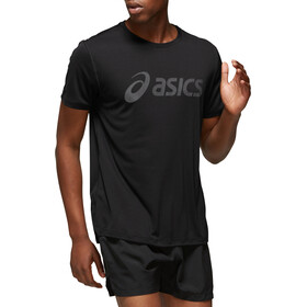asics Silver Maglietta Uomo, performance black / dark grey